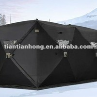 Two Room 6-8 People Ice Fishing Shelter Of Mx-0b-2011 - Buy Pop Up Fishing Shelter,Two Room Ice Fishing Shelter,Cold Environment Tent Product on Alibaba.com