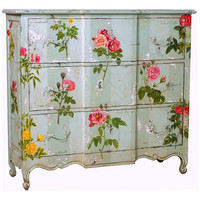Tall Three Drawer Chest