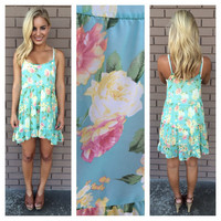 Vincenzo Floral Babydoll Dress