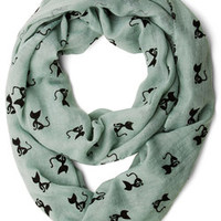 ModCloth Cats Cat Person Scarf