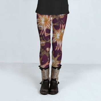 Flowers and Balls Pattern by Daniel Ferreira-Leites (Leggings)