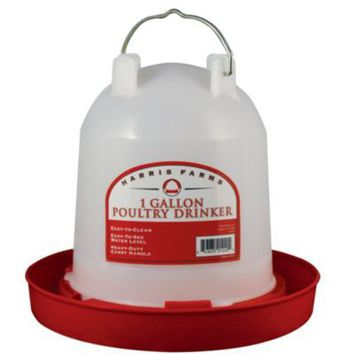 Harris Farms Poultry Drinker, 1 gal. Capacity - Tractor Supply Co.