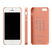 11+ iPhone 5/5S Color Case, Light Apricot