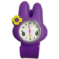 NEW! Cute 3D Cartoon Watch Kids Boy Girl Children's Rubber Snap-on Slap Cuff Watch Gifts Idea