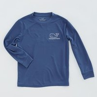 Boys Long-Sleeve Performance Graphic T-Shirt