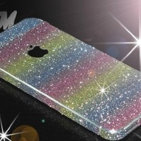 Iphone5/5s, Iphone4/4s Rainbow Sticker Protective Film