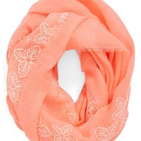 BP. Floral Trim Infinity Scarf (Juniors)
