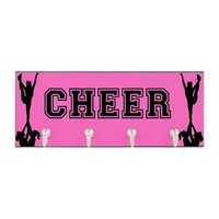 Cheerleader pink Key Hanger> Key Hangers> Designs by Alex