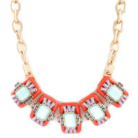 Pre-Order: World Traveler Necklace - Coral