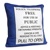 Exclusive Doctor Who TARDIS Pillow