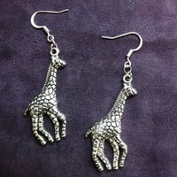 PIF - Silver Giraffes by chArmmCandy on Etsy