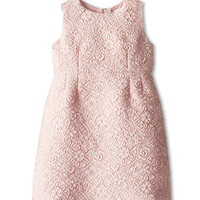 Dolce & Gabbana Sleeveless Lace Jacquard Dress (Toddler/Little Kids)