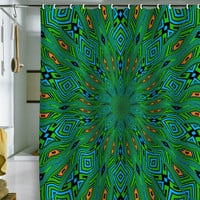 DENY Designs Home Accessories | Lisa Argyropoulos Urban Aztec Shower Curtain
