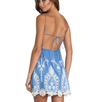 Dolce Vita Joao Dress in Dusty Blue