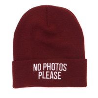 Young and Reckless No Photos Beanie at PacSun.com