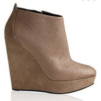 BALMAIN Canvas Wedge