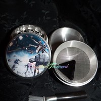 Star Wars Strike 4 Piece Herb Grinder Pollen Screen and Catcher from Cognitive Fashioned