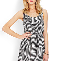 No Grey Area Woven Dress