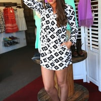 Southwest Shirt Dress