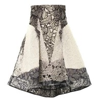 Radical orchid lace skirt