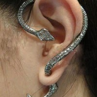 1PCS New Arrived fashion design Unique Punk Style Snake Stud Earrings free ship | eBay