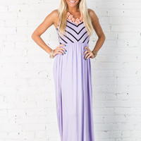 Summer Love Maxi Dress Lilac