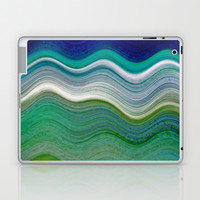 OCEANSCAPE ABSTRACT Laptop & iPad Skin by Catspaws