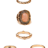 Vintage-Inspired Ring Set