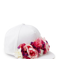 Flower Power Snapback Cap