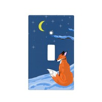 Winter Night Fox