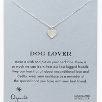 Dogeared 'Reminder - Dog Lover' Boxed Pendant Necklace | Nordstrom