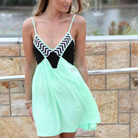 LIKE LOVERS DO DRESS , DRESSES, TOPS, BOTTOMS, JACKETS & JUMPERS, ACCESSORIES, 50% OFF SALE, PRE ORDER, NEW ARRIVALS, PLAYSUIT, COLOUR, GIFT VOUCHER,,Green,Print,SLEEVELESS,MINI Australia, Queensland, Brisbane