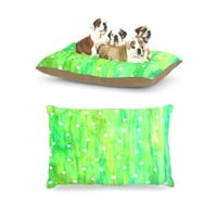 "Kess InHouse Rosie Brown ""Sprinkles"" Fleece Dog Bed, 30 by 40-Inch"