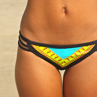 The Chelsea REVERSIBLE BIKINI bottoms by IMSYSwimwear on Etsy