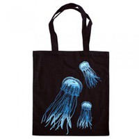 Handmade Gifts | Independent Design | Vintage Goods Jellyfish Tote