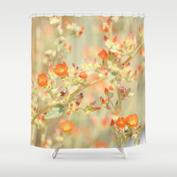 Desert Sunshine Shower Curtain by Lisa Argyropoulos