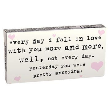 Fall In Love Gum (yesterday you were pretty annoying ...)