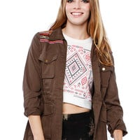 Papaya Clothing Online :: GEO Street-Chic Utility Jacket