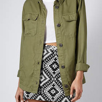 LIGHTWEIGHT SHIRT JACKET