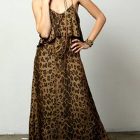 The Leopard Summer Lovin' Maxi Dress - DRESSES - Shop Online