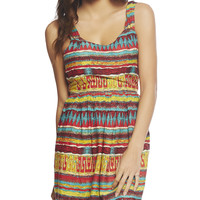 Tie Back Aztec Dress | Wet Seal