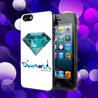 Diamond Supply Co Custome 7 Case For iPhone 5, 5S, 5C, 4, 4S and Samsung Galaxy S3, S4
