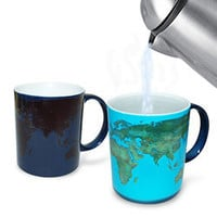 Heat Sensitive Day &amp; Night Mug - High quality heat sensitive mug that exposes the victim when hot beverage is poured in - LatestBuy Australia