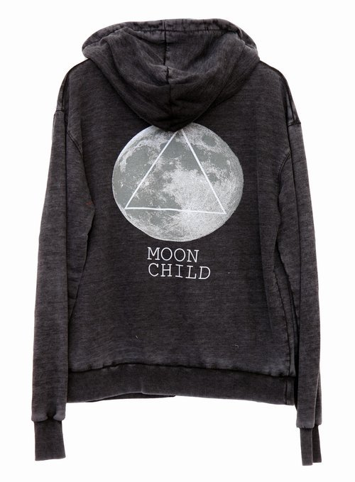 MOON CHILD at Wildfox Couture in  - FREE LOVE RED, - DIRTY BLACK