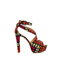 PRINTED SANDAL