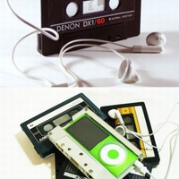 retro tape ipod case