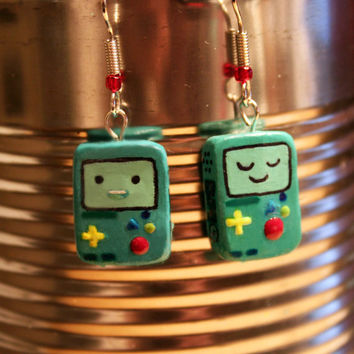 Adventure Time! BMO earrings!