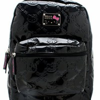 embossed hello kitty backpack $50.60 in BLACK - Hello Kitty | GoJane.com