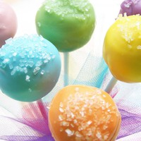Cake Pops - Sugar Topped Cake Pops, Cake On A Stick, Cake Truffles | Luulla