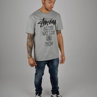Stussy All The Way Live T-shirt - Grey